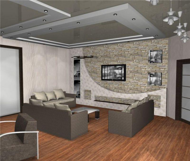 светодиодная лента на кухне на потолке фото