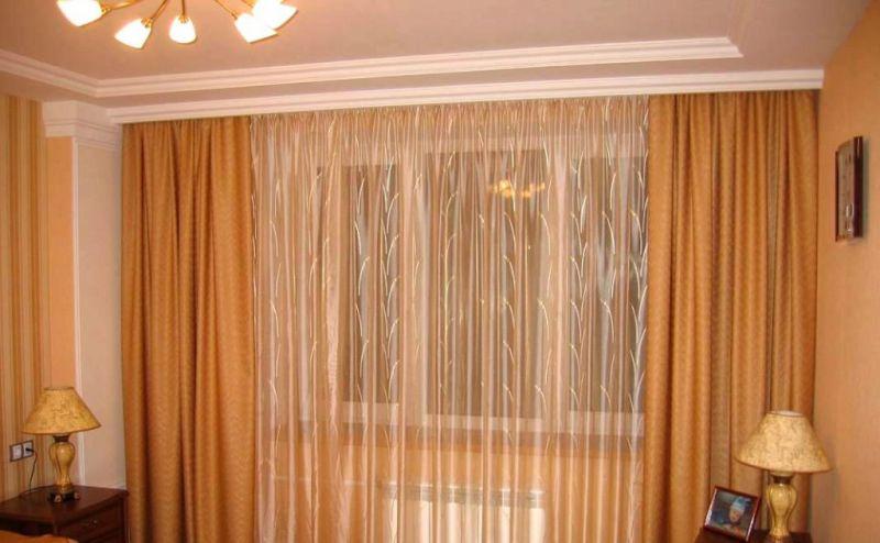 Потолочные гардины для штор фото