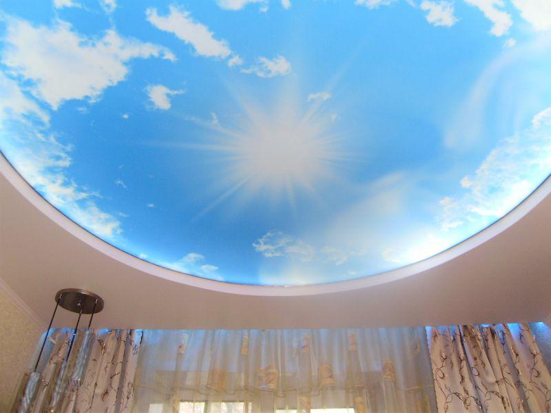 Схемотехника натяжной потолок с подсветкой месяцам