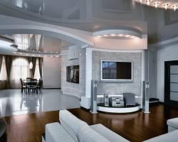 Дизайн потолков натяжных фото