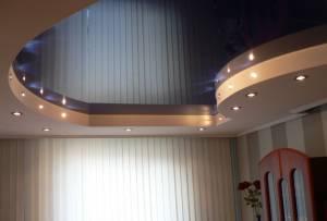 Цена за метр натяжных потолков в Московской области